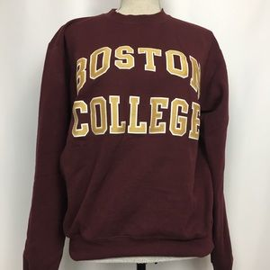 Champion Boston College Stitched Sweatshirt, Sz S